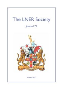 thumbnail of Cover LNER Society Journal 72